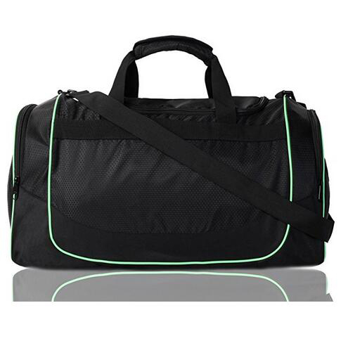 20 Inch Gym Bag with Shoe Compartment Men Duffel Bag
